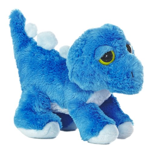 "Aurora World Dreamy Eyes Stan Dinosaur Blue 10"" Plush"
