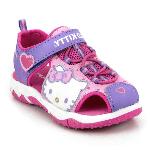 Hello Kitty Toddler Lil Violet Fisherman Sandal Shoes - 10 M Us Toddler front-1081408