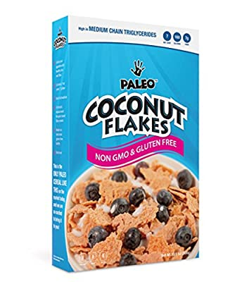 Julian Bakery Paleo Coconut Flakes (Low Carb & Gluten Free) Cereal, 10 Servings from Julian Bakery