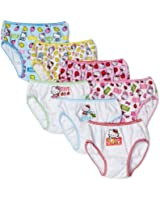 Handcraft Little Girls'  Hello Kitty  Underwear (Pack of 7), Assorted
