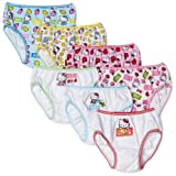 Handcraft Girls 2-6x Hello Kitty 7 Pack Underwear, Assorted