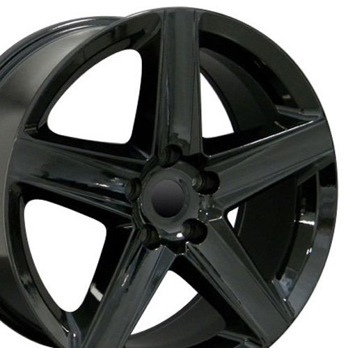20x9 Wheel Fits Jeep Grand Cherokee- Grand Cherokee Style Black Rim (Jeep Cherokee Wheels And Rims compare prices)