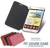 [ipad mini ケース] SICRON Fit Cover Case アイパッド ミニケース フリップケース  カバー ジャケット (BLACK)