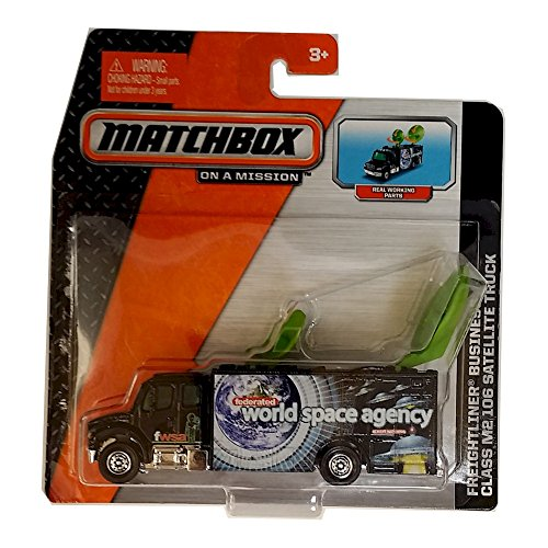 Matchbox - Freightliner Business Class M2 106 Satellite Truck - 1