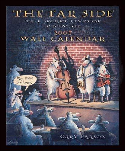 The Far Side 2007 Wall Calendar: The Secret Lives of Animals
