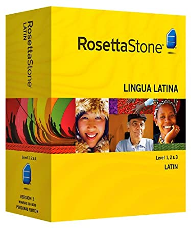 Rosetta Stone V3: Latin  Level 1-3 Set with Audio Companion