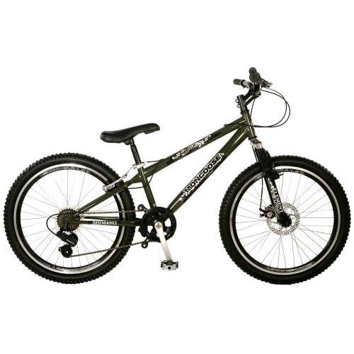 Amazon.com : Mongoose Slade Boy's BMX/Mountain Bike (24