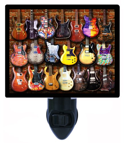 Music Night Light - Graphic Guitars Electrics - Guitar