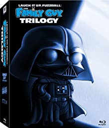 Laugh It Up, Fuzzball: The Family Guy Trilogy (It\'s a Trap! / Blue Harvest / Something, Something, Something, Darkside) [Blu-ray]