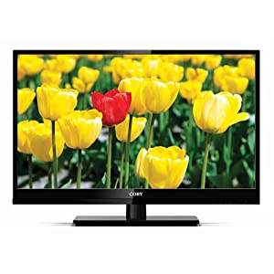 Coby LEDTV3216 32-Inch 720p 60Hz Slim-Bezel LED HDTV (Black)