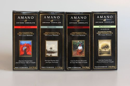Amano Chocolate Dark Chocolate Sampler