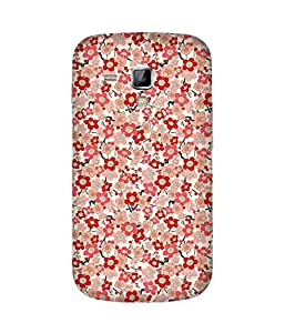 Red And Pink Samsung Galaxy S Duos S7562 Case