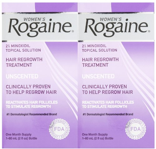 Rogaine Womens Regrowth 2 Percent Unscented 1 Month