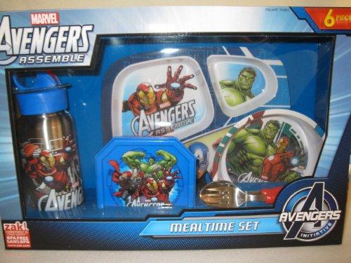 Marvel Avengers Assemble Mealtime Set - 6 Pieces