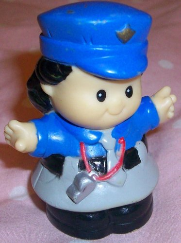 Buy Low Price Mattel Fisher Price Little People Man in Uniform Replacement Figure Doll Toy (B00258N0NY)