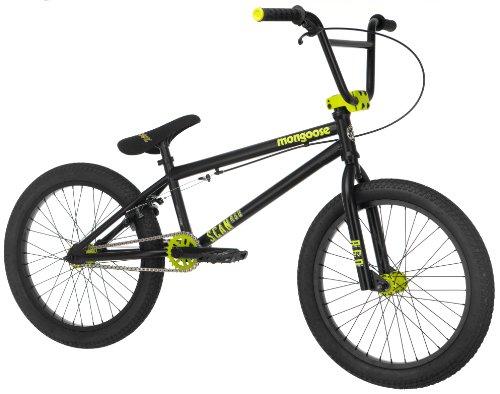 Mongoose Boy's Scan R60 Freestyle Bike,  20-Inch, Black