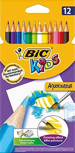 Bic Kids Aquacouleur Matite Colorate Acquerellabili