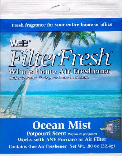 Scented Furnace Air Freshener Pad-OCEAN FLTR AIR FRESHENER