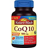 Nature Made CoQ10, 100 mg, Liquid Softgels, Value Size, 72 softgels