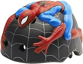 Abus Crazy Stuff Spiderman Casque Noir/Bleu/Rouge Taille S