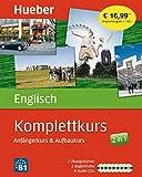 Komplettkurs Englisch: Anfängerkurs & Aufbaukurs / Paket: 2 Übungsbücher + 8 Audio-CDs