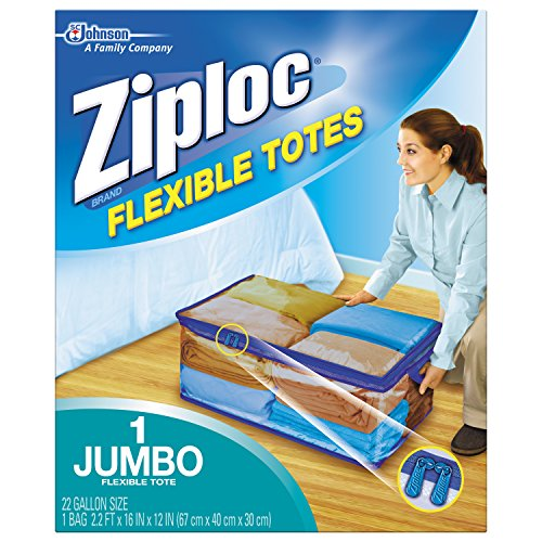 Ziploc Flexible Totes, XXL Qty: 1 (Storage Bag For Bedding compare prices)