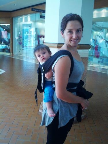 Buy Infantino Sash Mei Tai Carrier Black Gray Baby Bouncer Reviews