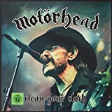 Clean Your Clock (2xLP Boxset w/ CD, DVD, BluRay and Ltd Edition Metal Motorhead Medal)