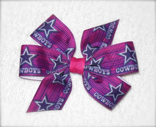 Pink Dallas Cowboys Hair Bow at Amazon.com