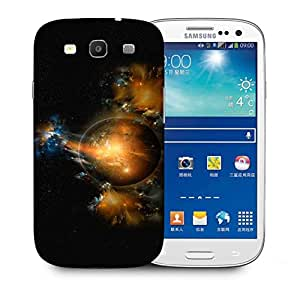Snoogg Florous Sun Printed Protective Phone Back Case Cover For Samsung S3 / S III