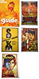 Prop It Up Set of 5 Vintage Bollywood Original Reprinted Posters (75 cmX50 cm)