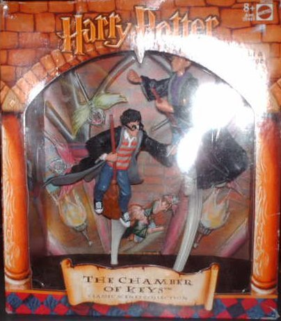 Picture of Mattel Harry Potter Classic Scenes Collection - The Chamber of Keys Figure (B00110AD4G) (Harry Potter Action Figures)