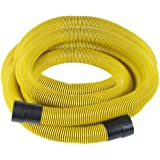 Dustless Technologies 14291 Flexible Hose with Coupler, 25-Feet-by-1-1/2-Inches