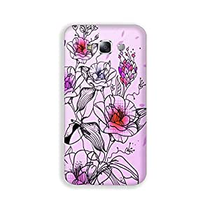Mott2 AbstractFlower Shine Back cover for Samsung A7 (Limited Time Offers,Please Check the Details Below)