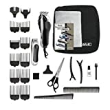 WAHL 79524-5201 / Deluxe Chrome Pro /25 pc Complete Haircutting Kit