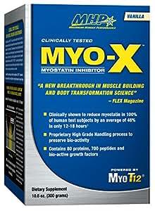 Amazon.com: MHP MYO-X Myostatin Inhibitor, Vanilla, 300 ...
