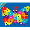 Magnetic Educational a-z Butterfly Jigsaw
