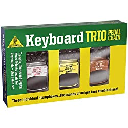 Behringer TPK989 Keyboard Trio Tremolo, Chorus And Digital Multi-Fx Pedals for Keyboards including Cables from Behringer USA