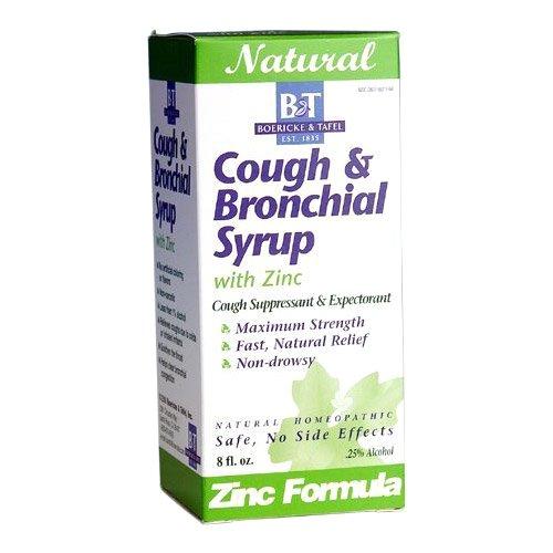 Boericke & Tafel Tafel, Cough Bronchial Syrup with Zinc, 240ml, WITH ZINC, 240ml