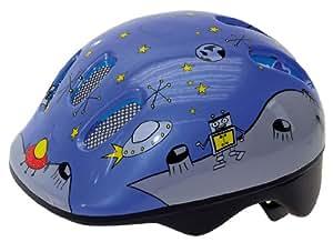 Ventura Space Casque de vélo enfant Bleu