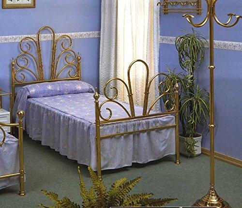 Lits en laiton et têtes de lit: modèle MARSEILLE.