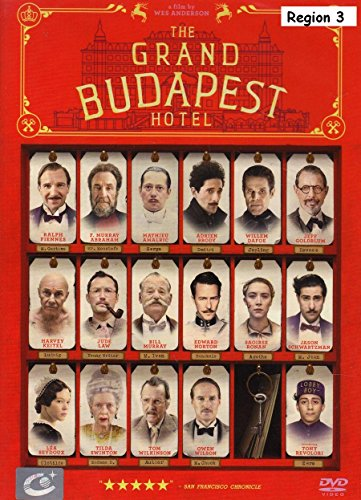 The Grand Budapest Hotel - Language : English , Thai , Spanish , Portuguese (Hotel Budapest Soundtrack compare prices)