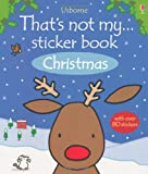 Fiona Watt Christmas (That's Not My... Sticker Book)