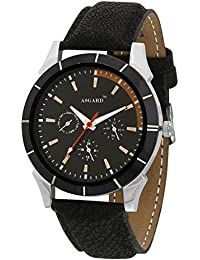 Asgard Analog Black Dial Watch For Men- BR-97