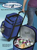 Rolling Cooler Lightweight & Strong Holds Over 40 Cans Giant...
