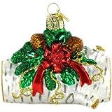 Old World Christmas Yule Log Ornament