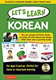 Let s Learn Korean: 64 Basic Korean Words and Their Uses (Flashcards, Audio CD, Games and Songs, Learning Guide and Wall Chart)