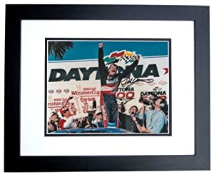 Dale Jarrett Autographed Hand Signed Nascar 8x10 Daytona 500 Champion Photo - BLACK... by Real Deal Memorabilia