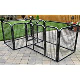 RayGar Double Heavy Duty Strong Large L105 x W70 x H70cm Pet Dog Cat Cage Pen Fence Whelping Kennel Enclosure - New