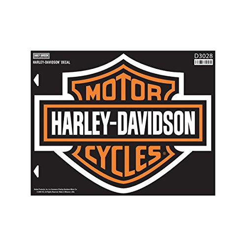 Classic Bar & Shield Decal - XL - Harley-Davidson (Harley Davidson Decal Large compare prices)